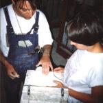 στα Εργαστήρια στην Κανάρη 1988