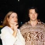 με την ζωγράφο Ρίκα Μπέργιου 1993